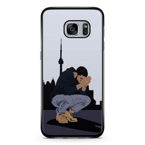 Drake, Seven Days and Drop in Samsung Galaxy S7 Case Cover ISVA480