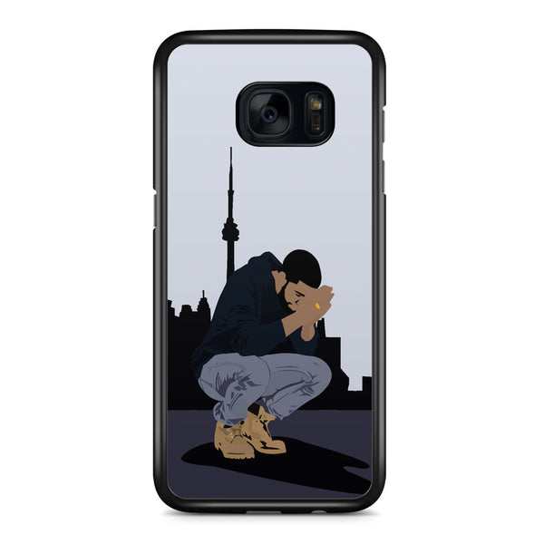 Drake, Seven Days and Drop in Samsung Galaxy S7 Edge Case Cover ISVA480