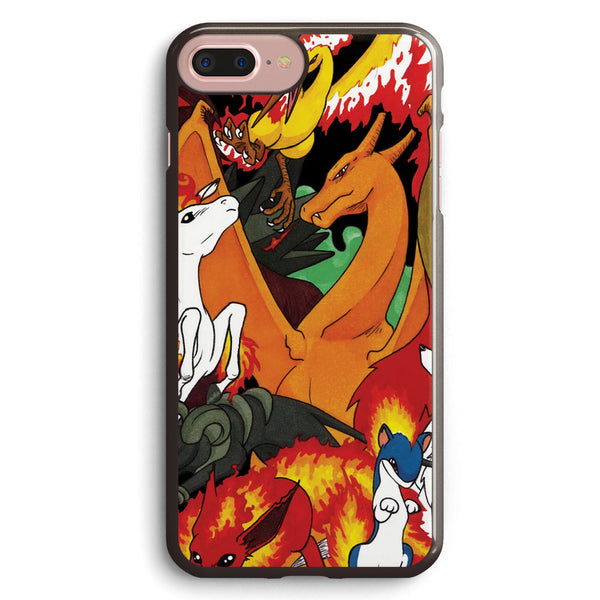 Fire Pokemon Go Apple iPhone 7 Plus Case Cover ISVF684