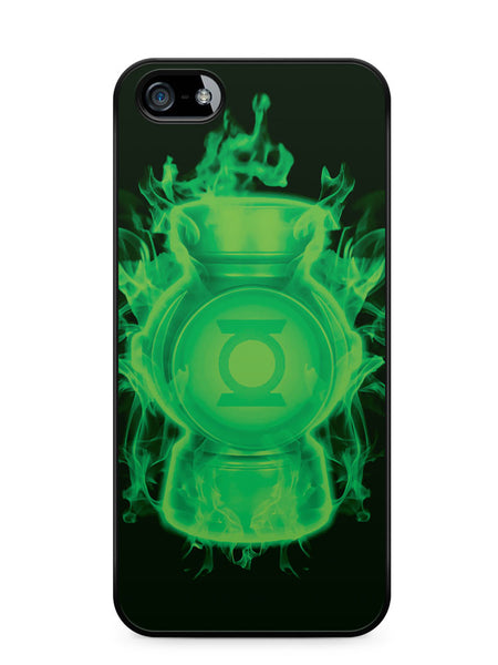 Firey Green Lantern Apple iPhone SE / iPhone 5 / iPhone 5s Case Cover  ISVA307