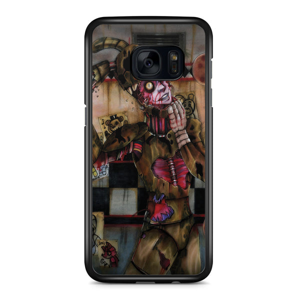 Five Nights at Freddy's and the Suits Samsung Galaxy S7 Edge Case Cover ISVA320
