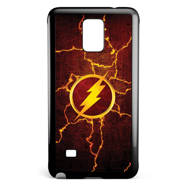 Flash Cracked Energy Samsung Galaxy Note 4 Case Cover ISVA310