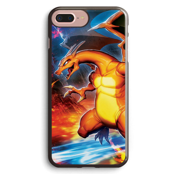 Flashfire Charizard Apple iPhone 7 Plus Case Cover ISVA265