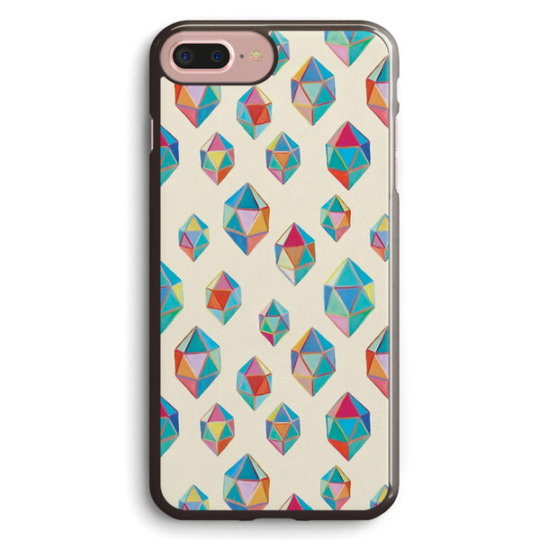 Floating Gems a Pattern of Painted Polygonal Shapes Apple iPhone 7 Plus Case Cover ISVG110