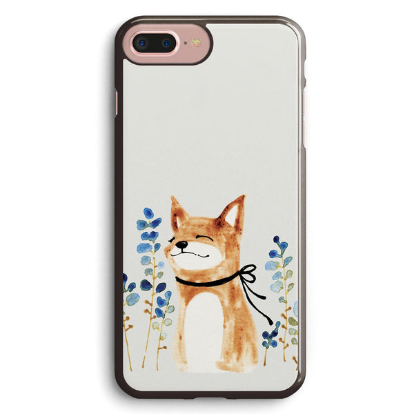 Fox and Flower Apple iPhone 7 Plus Case Cover ISVB546