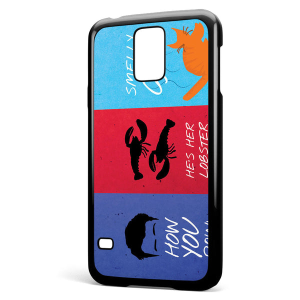 Friends Quotes Samsung Galaxy S5 Case Cover ISVA153