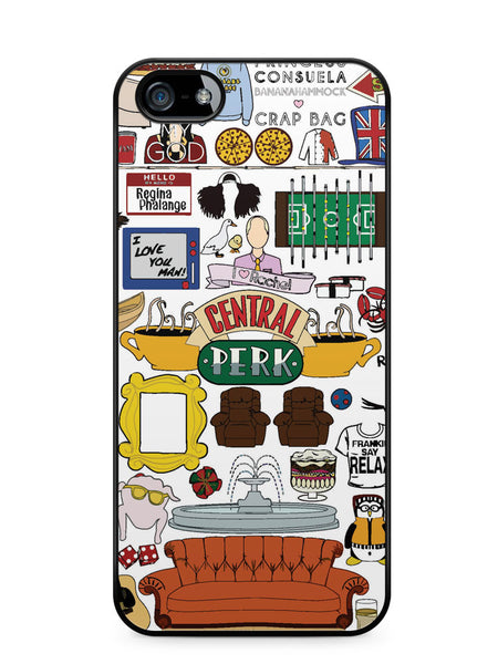 Friends Tv Show Apple iPhone SE / iPhone 5 / iPhone 5s Case Cover  ISVA106