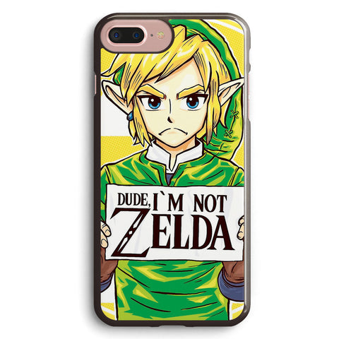 Funny Dude, I m Not Zelda Apple iPhone 7 Plus Case Cover ISVH022