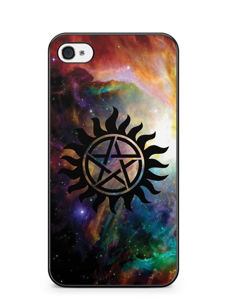 Galaxy Supernatural Logo Apple iPhone 4 / iPhone 4S Case Cover ISVA367