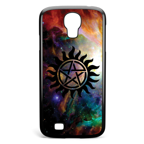 Galaxy Supernatural Logo Samsung Galaxy S4 Case Cover ISVA367
