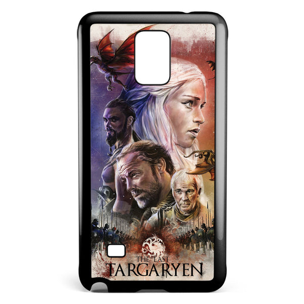 Game of Thrones the Last Targaryen Samsung Galaxy Note 4 Case Cover ISVA528