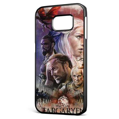 Game of Thrones the Last Targaryen Samsung Galaxy S6 Edge Case Cover ISVA528