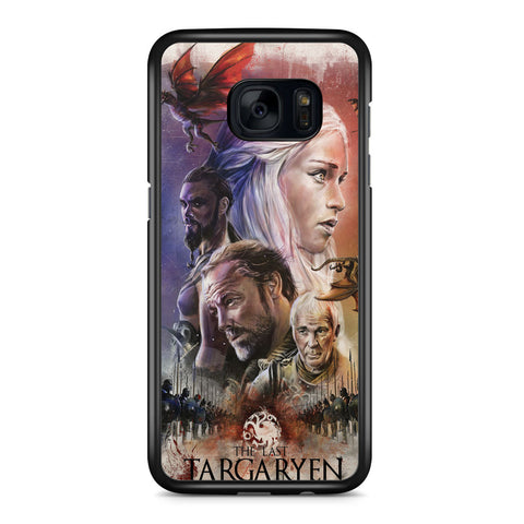 Game of Thrones the Last Targaryen Samsung Galaxy S7 Edge Case Cover ISVA528