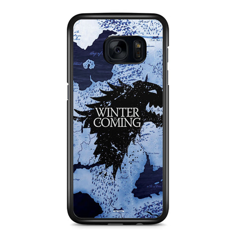 Game of Thrones Winter is Coming Samsung Galaxy S7 Edge Case Cover ISVA526