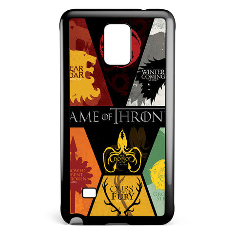 Game of Thrones Posters Samsung Galaxy Note 4 Case Cover ISVA524