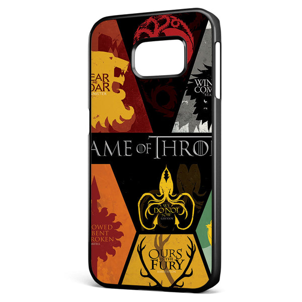 Game of Thrones Posters Samsung Galaxy S6 Edge Case Cover ISVA524