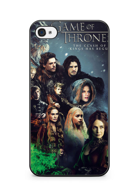Game of Thrones Season 2 Poster Apple iPhone 4 / iPhone 4S Case Cover ISVA529