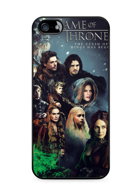 Game of Thrones Season 2 Poster Apple iPhone SE / iPhone 5 / iPhone 5s Case Cover  ISVA529