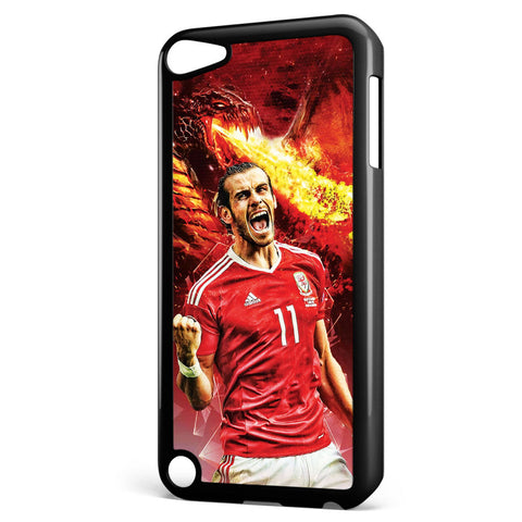 Gareth Bale on Fire Apple iPod Touch 5 Case Cover ISVA142