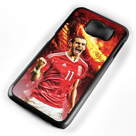 Gareth Bale on Fire Samsung Galaxy S6 Case Cover ISVA142