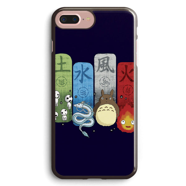 Ghibli Elemental Charms Apple iPhone 7 Plus Case Cover ISVD379