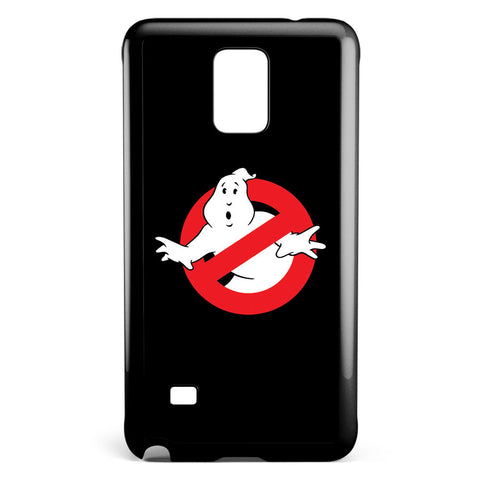 Ghost Buster Black Logo Samsung Galaxy Note 4 Case Cover ISVA397