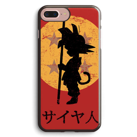 Goku Silhouette Apple iPhone 7 Plus Case Cover ISVA298
