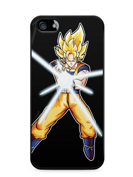 Goku Turns Super Saiyan Apple iPhone SE / iPhone 5 / iPhone 5s Case Cover  ISVA301