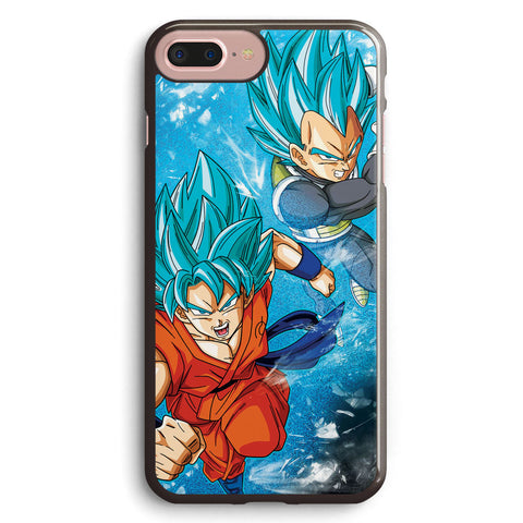 Goku and Vegeta Ssgss Apple iPhone 7 Plus Case Cover ISVD390