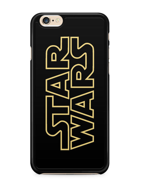 Golden Star Wars Logo Apple iPhone 6 / iPhone 6s Case Cover ISVA216