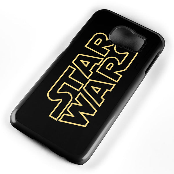 Golden Star Wars Logo Samsung Galaxy S6 Case Cover ISVA216