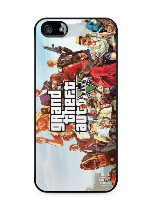 Grand Theft Auto V Apple iPhone SE / iPhone 5 / iPhone 5s Case Cover  ISVA533