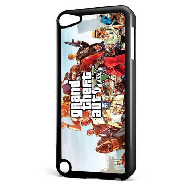 Grand Theft Auto V Apple iPod Touch 5 Case Cover ISVA533