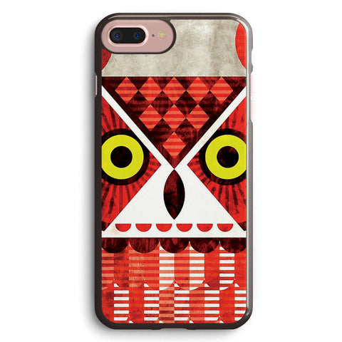 Great Horned Owl Apple iPhone 7 Plus Case Cover ISVF122