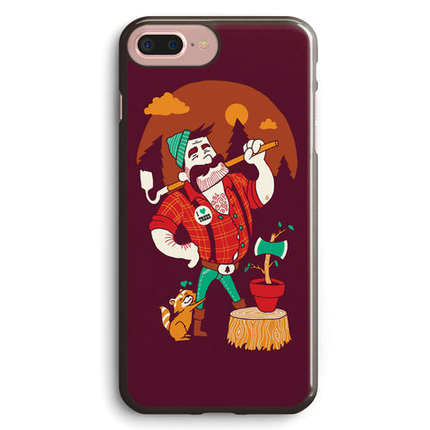 Green Thumberjack Apple iPhone 7 Plus Case Cover ISVD980