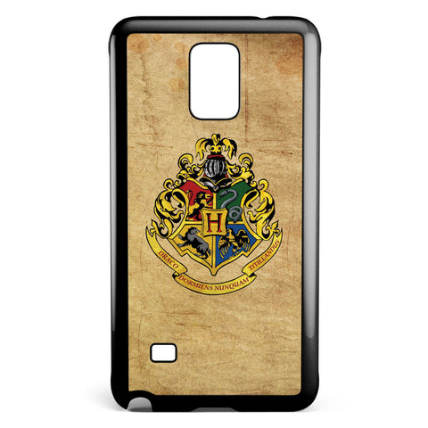 Grunge Hogwarts School Logo Samsung Galaxy Note 4 Case Cover ISVA131