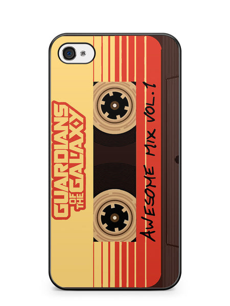 Guardians of the Galaxy Awesome Mix Vol 1 Apple iPhone 4 / iPhone 4S Case Cover ISVA190