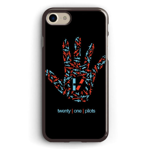 Guns, Hands and Twenty One Pilots Apple iPhone 7 Case Cover ISVA275