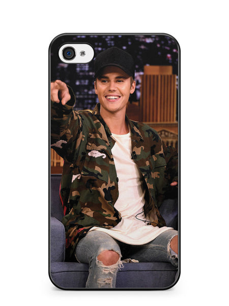 Handsome Justin Bieber Apple iPhone 4 / iPhone 4S Case Cover ISVA125