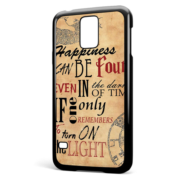 Happiness Can Be Found in the Darkest Samsung Galaxy S5 Case Cover ISVA323
