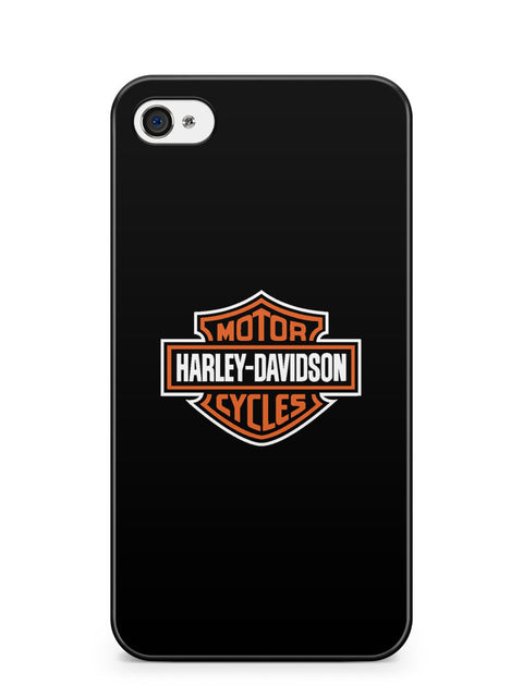 Harley Davidson Logo Apple iPhone 4 / iPhone 4S Case Cover ISVA096