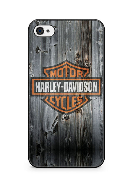 Harley Davidson Wood Logo Apple iPhone 4 / iPhone 4S Case Cover ISVA127