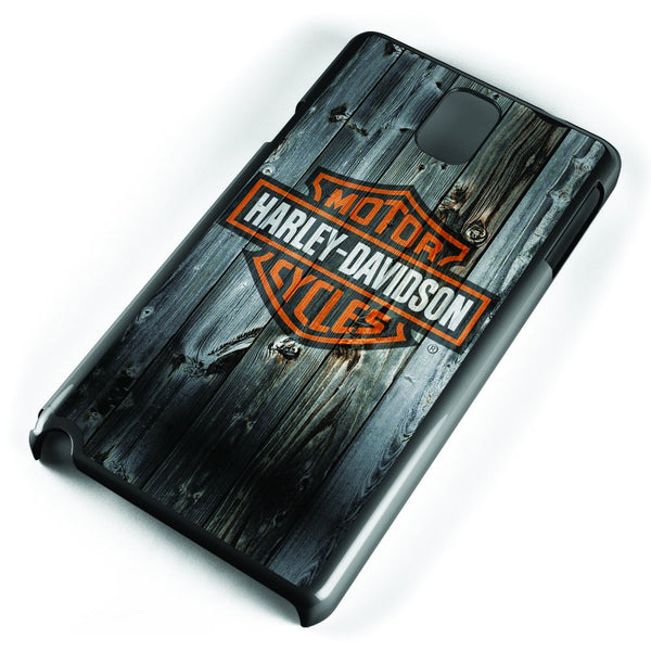 Harley Davidson Wood Logo Samsung Galaxy Note 3 Case Cover ISVA127