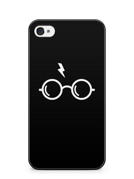 Harry Poter's Glasses Black Background Apple iPhone 4 / iPhone 4S Case Cover ISVA185