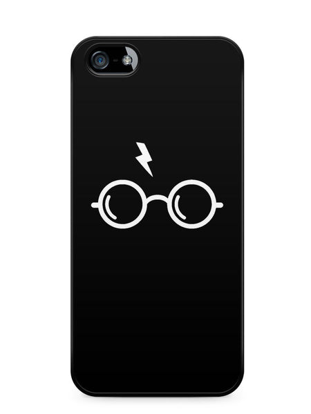 Harry Poter's Glasses Black Background Apple iPhone SE / iPhone 5 / iPhone 5s Case Cover  ISVA185