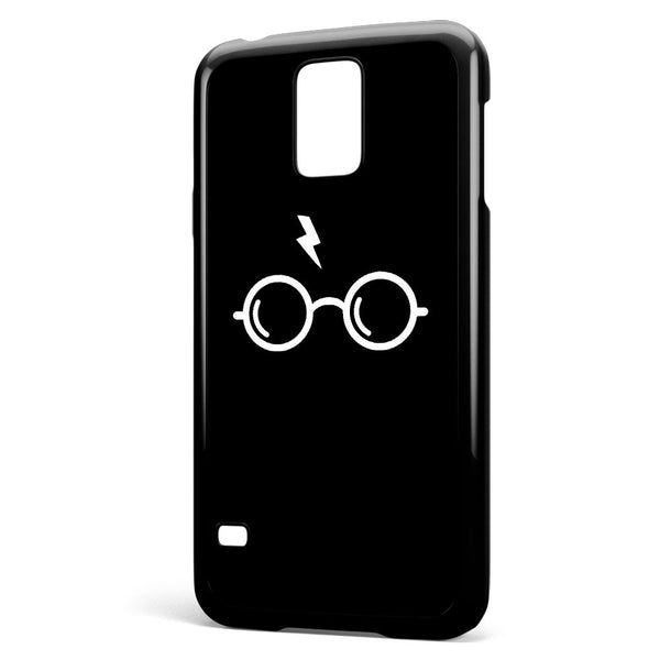 Harry Poter's Glasses Black Background Samsung Galaxy S5 Case Cover ISVA185