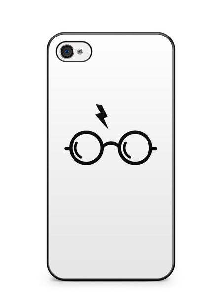Harry Poter's Glasses White Background Apple iPhone 4 / iPhone 4S Case Cover ISVA186