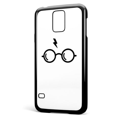 Harry Poter's Glasses White Background Samsung Galaxy S5 Case Cover ISVA186