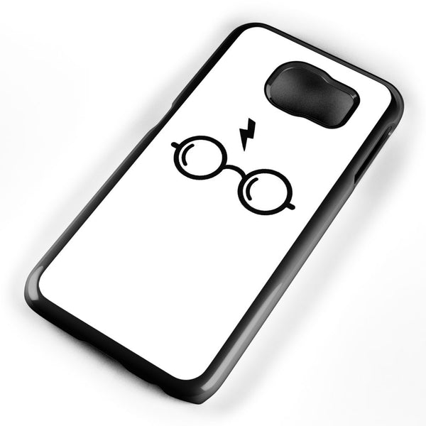 Harry Poter's Glasses White Background Samsung Galaxy S6 Case Cover ISVA186