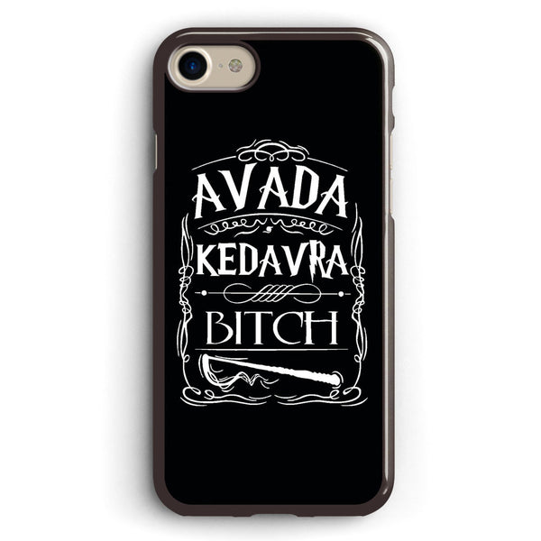 Harry Potter Avada Kedavra Bitch Apple iPhone 7 Case Cover ISVA026